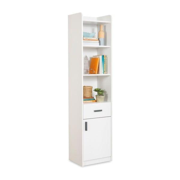 White Bookcase fehér könyvszekrény