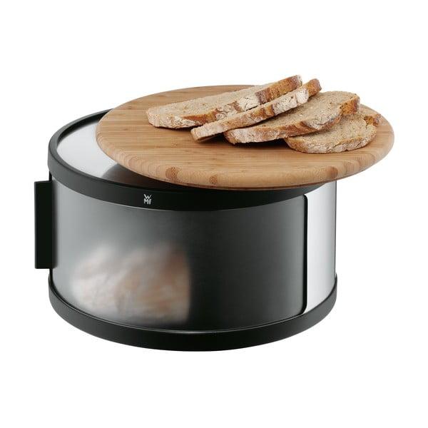 Chlebník s doskou z bambusu WMF Cromargan®