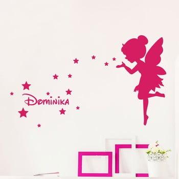 Autocolant de perete cu nume Ambiance Fairy And The Stars de la Ambiance