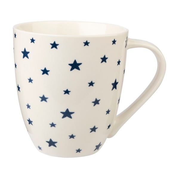 Kubek z porcelany kostnej Churchill Couture Sieni Stars, 500 ml