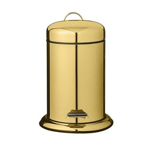 Kuchyňský pedálový odpadkový koš ve zlaté barvě Bloomingville Dustbin