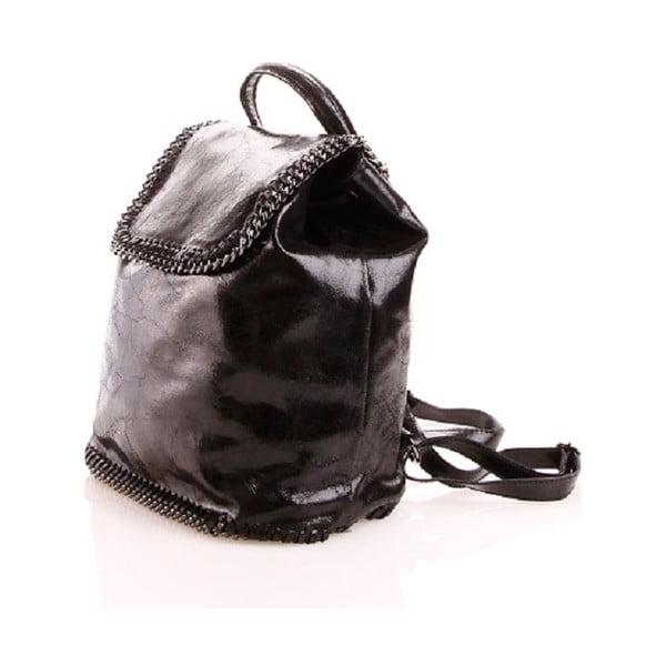 Kožený batůžek Emily, černý