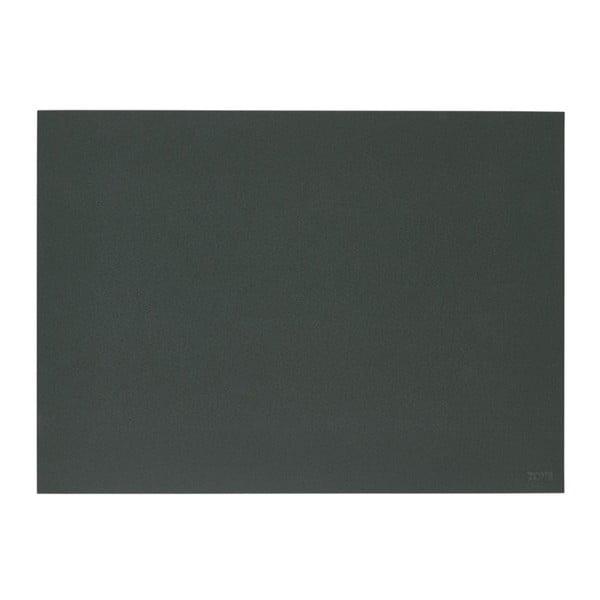 Lino sötétzöld tányéralátét, 30x40 cm - Zone