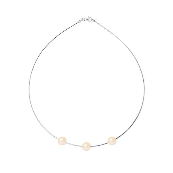 Náhrdelník s říčními perlami Agatha