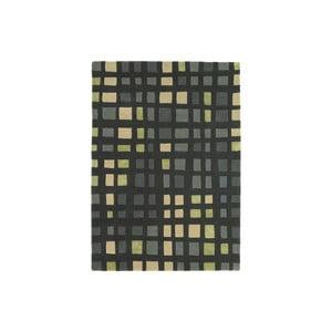 Vlněný koberec Plaza Green 120x170 cm