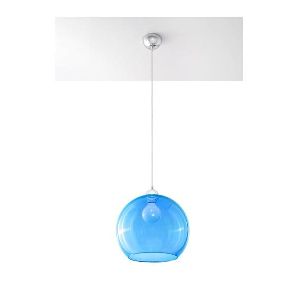 Lustră Nice Lamps Bilbao, albastru