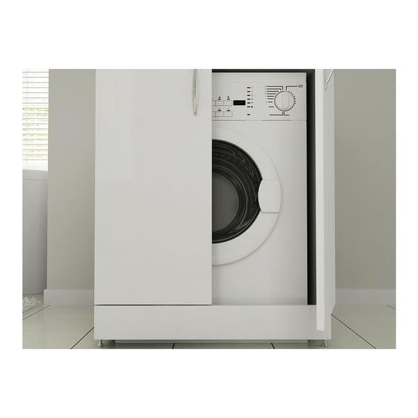Skříň na pračku Mine White