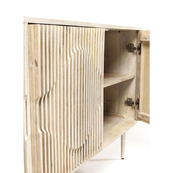 Třídveřová komoda z mangového dřeva Kare Design Echo