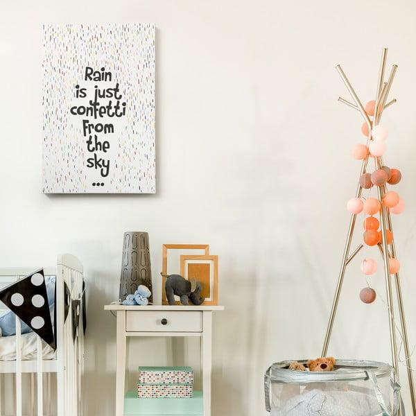 Obraz na plátně Confetti, 40x60 cm