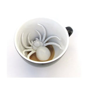 Hrnek Spider, 445 ml, černý