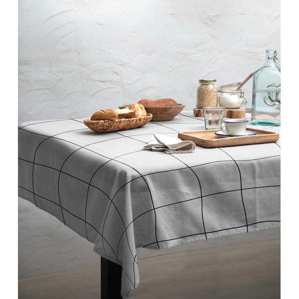 Față de masă Linen Couture Blue Lines, 140 x 200 cm