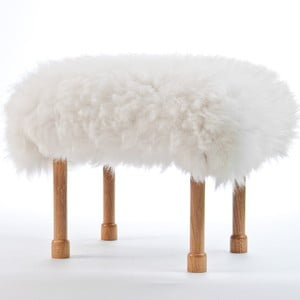 Stolička z ovčí kůže Megan Ivory