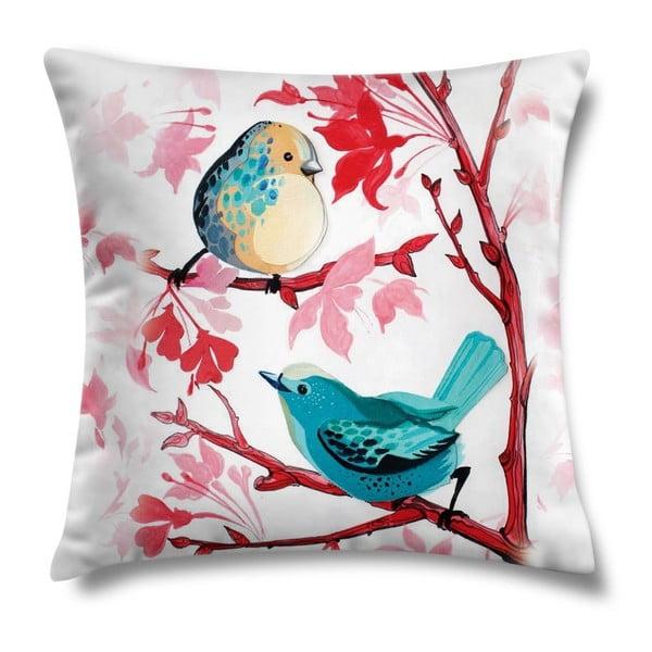 Polštář Blue Birds, 43x43 cm