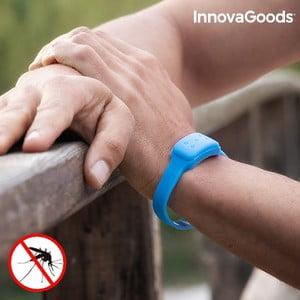Modrý repelentní náramek proti komárům s vůní citronely InnovaGoods