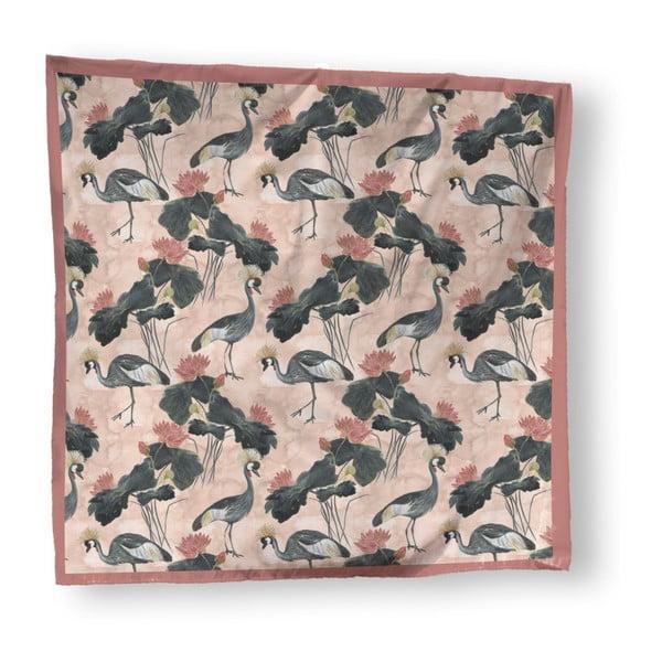 Přehoz přes postel Madre Selva Flores y Gruas, 170 x 240 cm