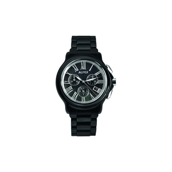Pánské hodinky Alfex 5629 Black/Black