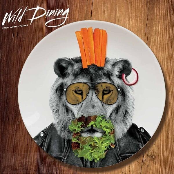 Talíř Wild Dining Lev