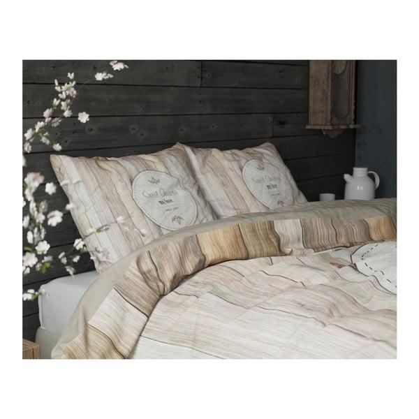 Lenjerie de pat din bumbac Dreamhouse Sweet Dreams, 200 x 200 cm