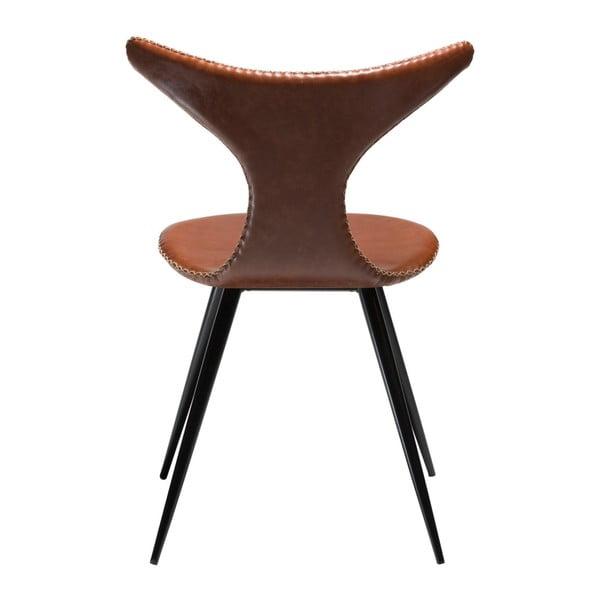 Hnědá židle DAN-FORM Denmark Dolphine