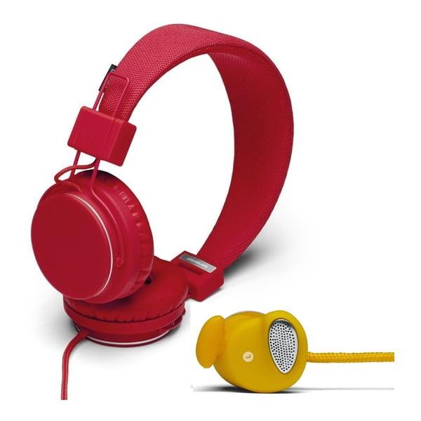Sluchátka Plattan Tomato + sluchátka Medis Mustard ZDARMA