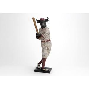 Dekorativní figurka Býk basebalista