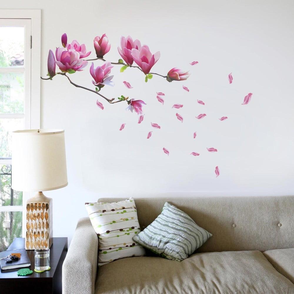 Samolepka na st nu walplus magnolie bonami for Corsi per arredatore d interni