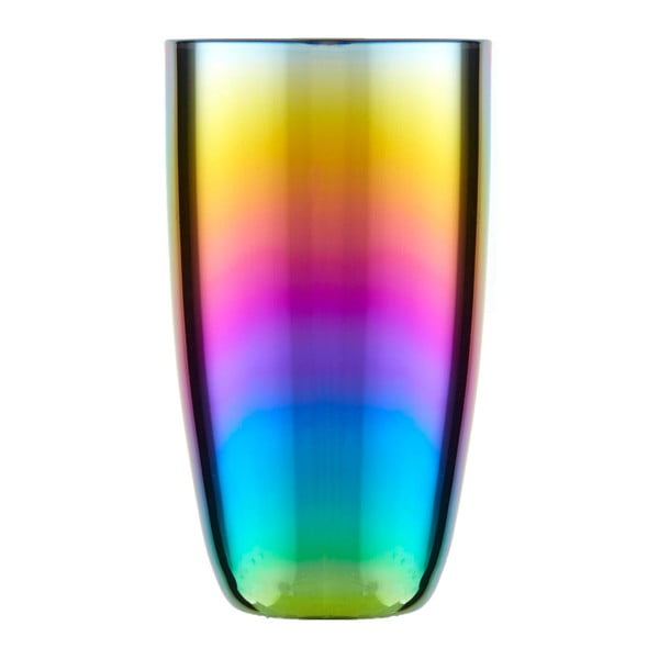 Sada 4 sklenic s duhovým efektem Premier Housewares Rainbow, 507 ml