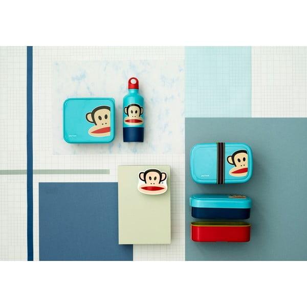 Sticlă cu cană LEGO® Paul Frank, albastru
