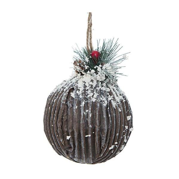 Závěsná dekorace Brown Ball