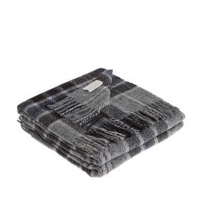Šedá deka z panenské vlny Lanerossi Levico, 130x170cm