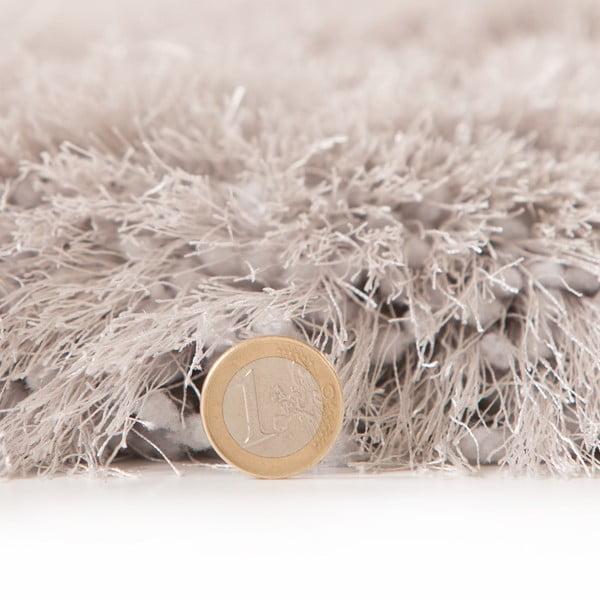Koberec Pearl 150 cm, stříbrný