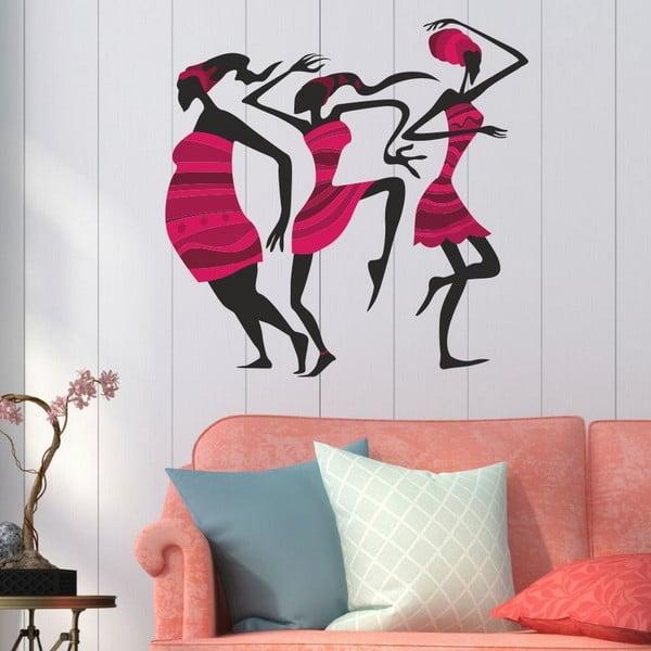 Dekorativní nálepka na stěnu Pink Woman