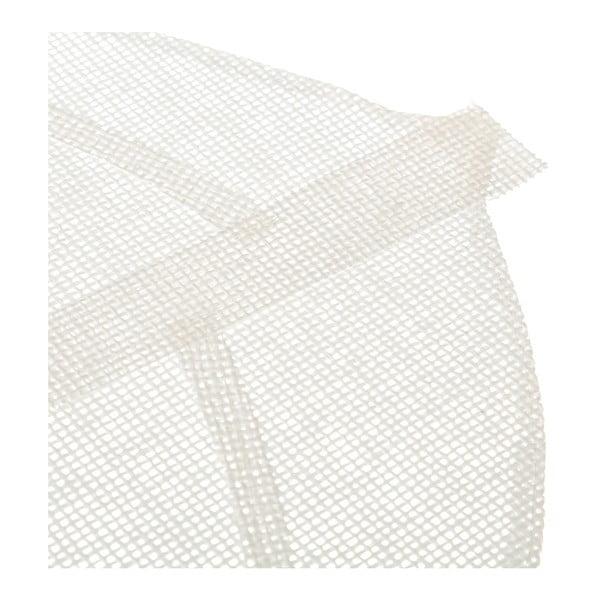Bílé prostírání ve tvaru listu Unimasa, 50 x 33 cm