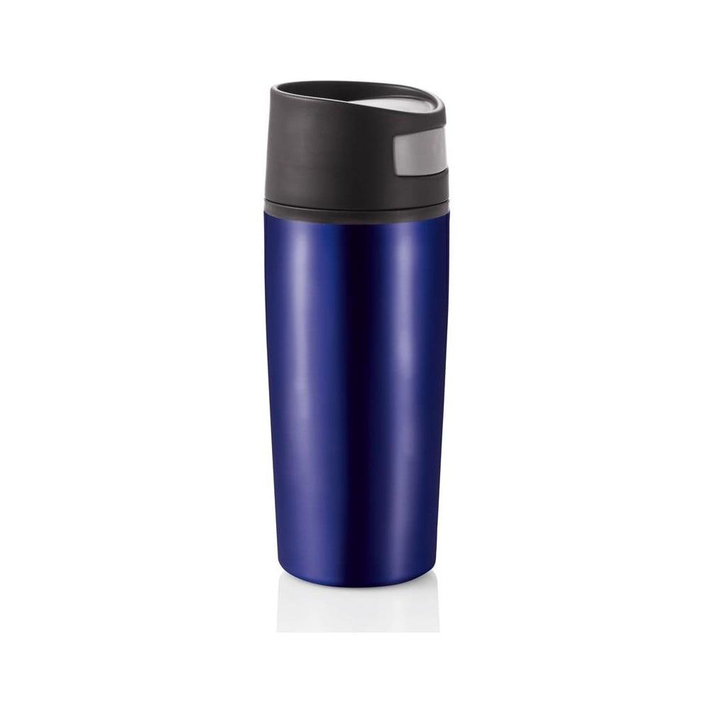 Modrý termohrnek do auta XD Design Leak, 400 ml