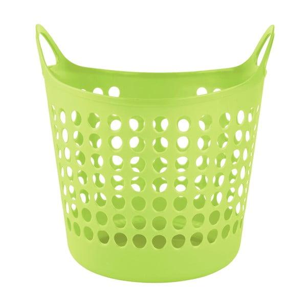 Koš na prádlo Galzone, zelený