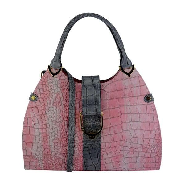 Kožená kabelka Sonia Pink