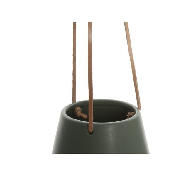 Ghiveci suspendat PT LIVING Skittle, diametru 12,2 cm, verde