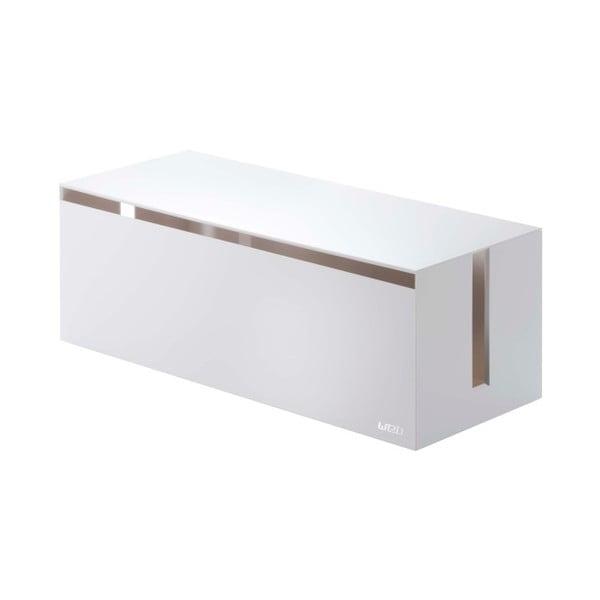 Casetă protecție prelungitor YAMAZAKI Web Cable Box, alb