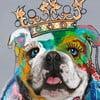 Hector Bulldog 2, 70x70 cm