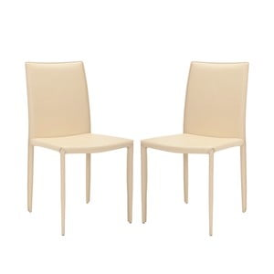 Sada 2 židlí Karna, béžové