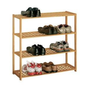 Botník z ořechového dřeva Premier Housewares Shoe Rack, 79x80 cm