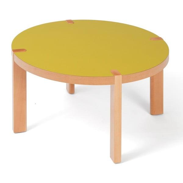 Stolek Candy 60x60x30 cm, kulatý (různé barvy)