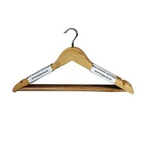 Set 6 umerașe Jocca Wooden Hangers