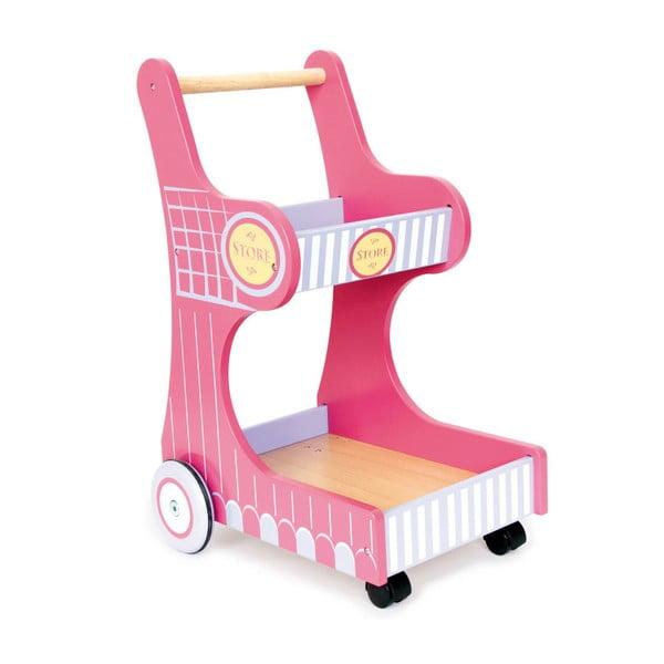Dětský nákupní vozík na hraní Legler Isa Trolley