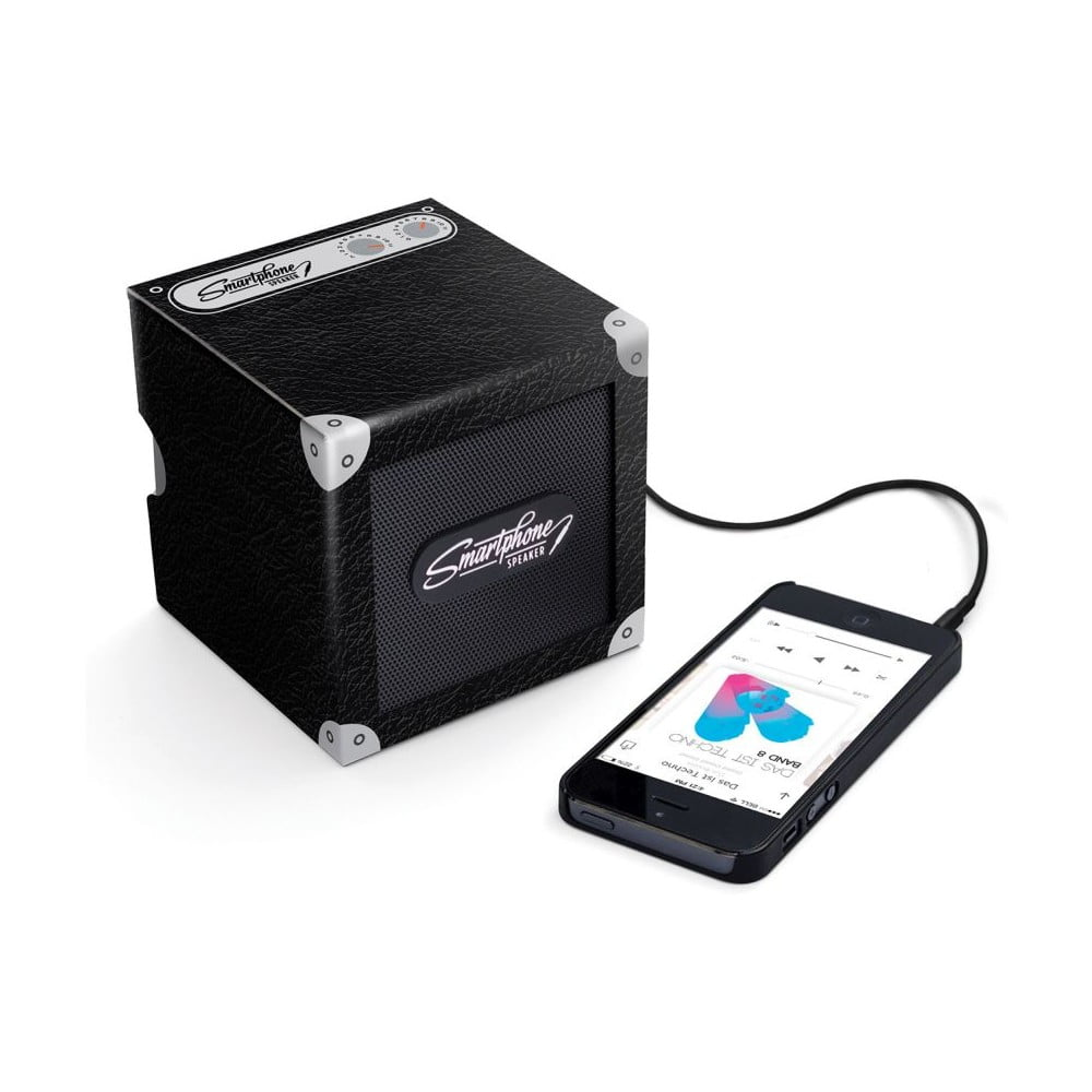 Přenosný reproduktor Luckies of London Smartphone Speaker Classic