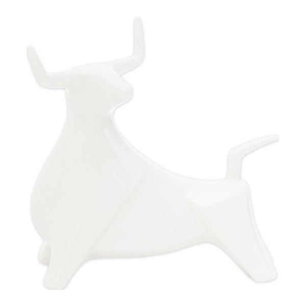 Bílá porcelánová dekorativní soška Mauro Ferretti Toro A