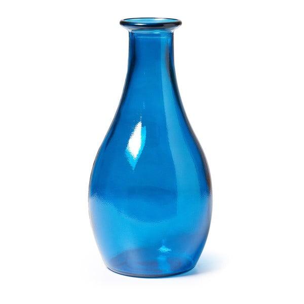 Modrá skleněná váza La Forma Shalimar