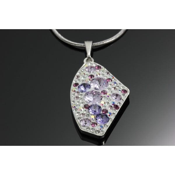 Náhrdelník Swarovski Elements Violet