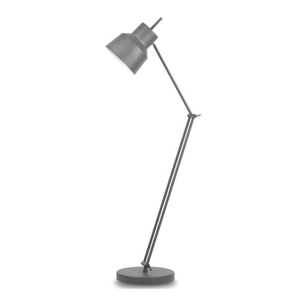 Šedá volně stojící lampa Citylights Belfast