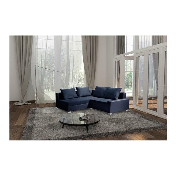 Tmavě modrá sedačka Interieur De Famille Paris Aventure, levý roh